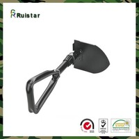 China Military Folding Stainless Camping Shovel