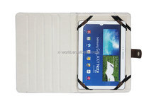 4 elastic bands stand horizontal fashion universal tablet case leather cover