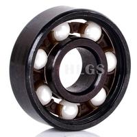 608 606 R188 chrome steel or stainless steel ceramic fidget spinner bearings