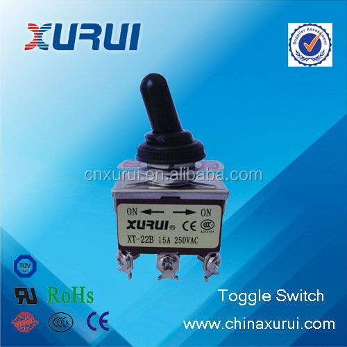 UL&RoHS factory supply dpdt sealed toggle switch