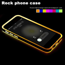 Rock Original Case For Cell Phone,Flash Light Case Cover For Iphone