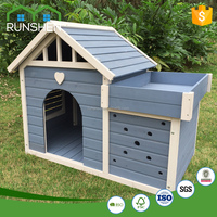 2017 Outdoor Wooden Pet Dog House Heighten Premium Wholesale Wooden House Dog