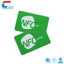 Good Quality 13.56mhz iso14443a Ntag213 PVC Contactless RFID NFC Smart Card