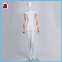 cheap cheap cheap Full Body Female mannequin adjustable wooden arms