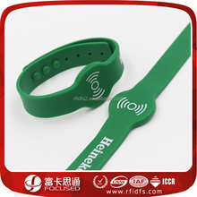High quality RFID silicone rubber wristband