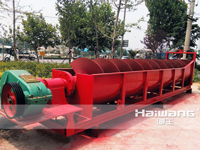 China High Quality Mining Spiral Classifier For Gold Mine Buyer