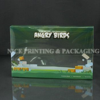 Full Colour Printing Plastic PVC Cute Packaging Box For Ipad Case