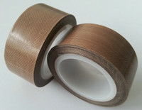 Free sample ptfe coated fiberglass fabric adhesive tape with good quality