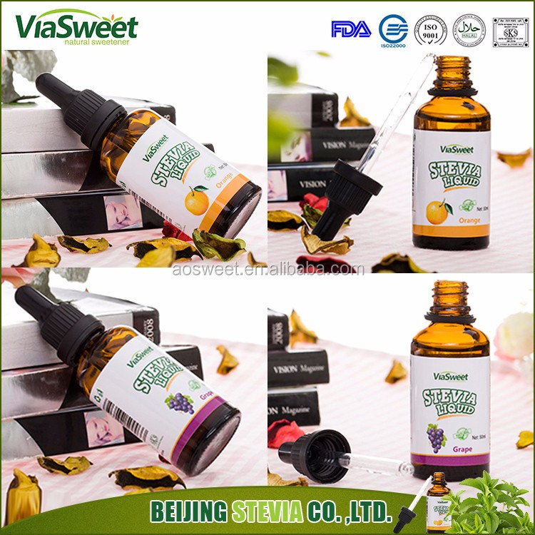 ViaSweet natural stevia liquid sweetener <strong>10</strong>, 30, 50, 60, 100, 120ml