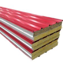 Steel Building Insulated Composite Board, Container Home, Fiber Glass Sandwich Roof Panel