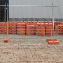 Portable Temporary Fence Temp Fencing Galvanized Safety Temporary Construction fence for New Zealand