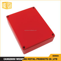 colouring coating aluminum die casting box