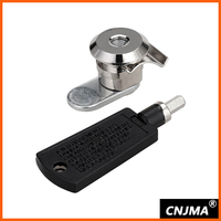 MS92 small size cylindrical key cam lock