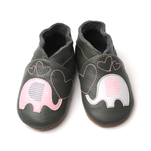 Shenzhen Childhood Elephant Black Infants Indoor Shoes
