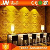500*500 DIY Color Textured Wall Cover Interior Wall Panels 3D Wall Decor