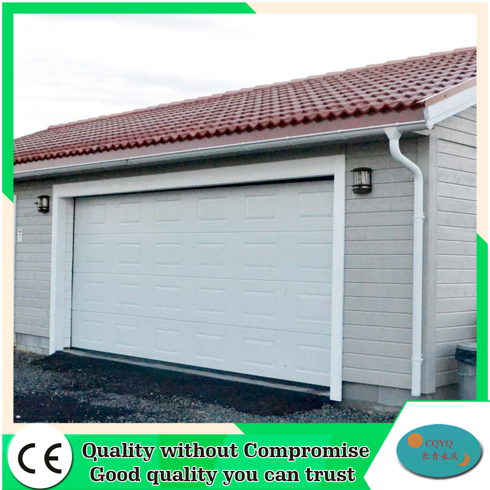 Remote control electric non finger protection garage door