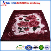 Hot 6kg custom comfort thicken 100% acrylic blanket throw winter knitted blankets