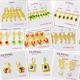 212-E xuping 24k gold color earring drop Earring women jewelry