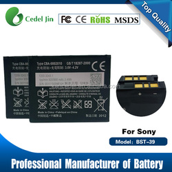 Long life best price Li-ion Batteries manufacturer offer for SONY Ericsson BST-39 Battery cell phone