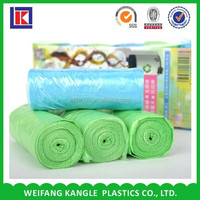 cornstarch customized heavy duty plastic trash bag for packing