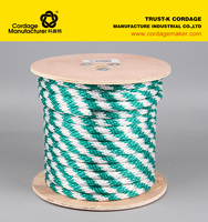 polypropylene solid braided rope from china OEM