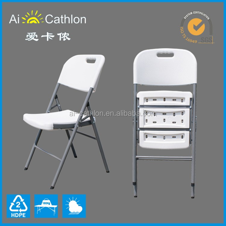 Portable Folding Chair,Plastic Foldable Chair,Blow Mold Folding Chair
