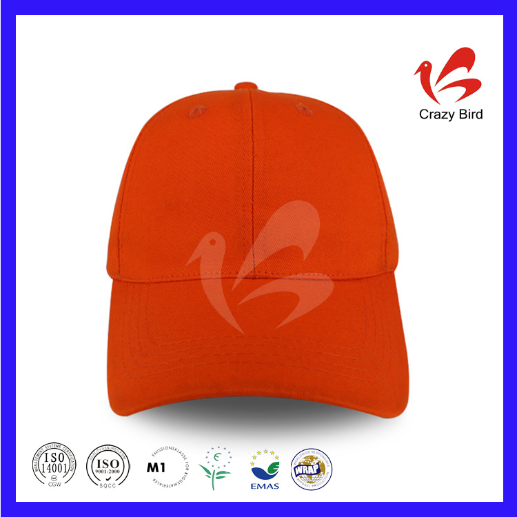 Crazy Bird Trade Assurance Stylish Oranger Blank Cap For Sublimation