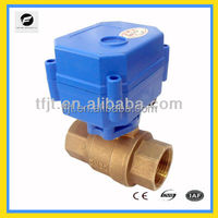 DC5V full port 2-way motor operate shutoff valve with normally closed or normally open for drain water system