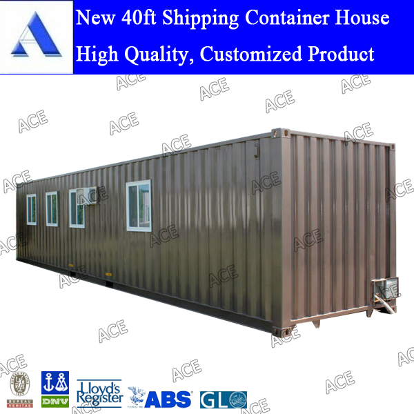 New 40ft container home house