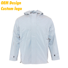Manufacturer Fashionable Silk Screen Printing with hood Jacket