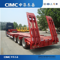 CIMC Three Axles 40 Ton Lowbed Semitrailer