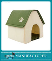 Dog House Pet Igloo Cat Cave Bed Warm Mat Kennel Indoor Removable Pad