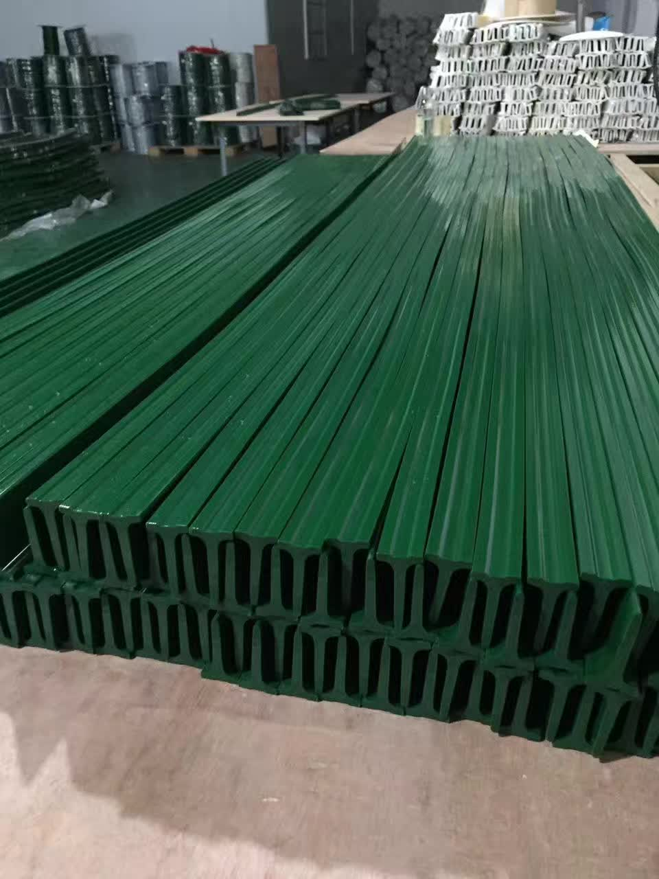 pvc conveyor belt with guide strip