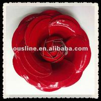 Cheap Artificial Red Rose Flower Shoe