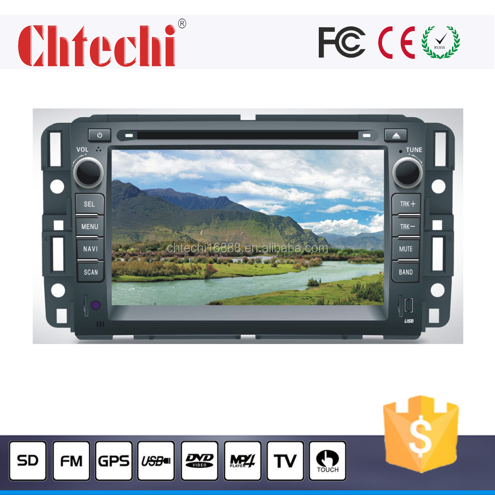 Car Multimedia DVD Player for GMC With Navigation Bluetooth Canbus