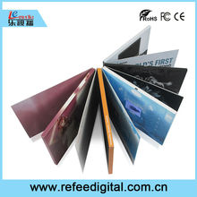 LCD Video book, LCD Video Card, LCD video brochure