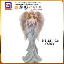 resin Standing Praying Angel Statue and Spiritual & Christian Decor Figurines and Sculptures and polyresin standing angel