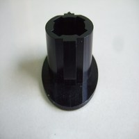 Metal moulded parts covered by rubber