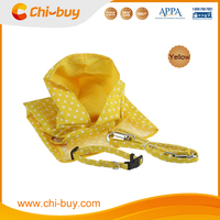 Best Durable Posh Yellow Pooch Polka Dot Dog Raincoat for dog Free Shipping on order 49usd