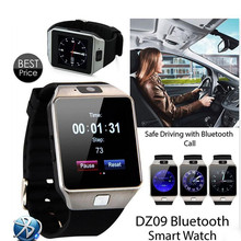 Best Price for DZ09 Smart Touch Watch Digital Electronics SIM TF Card Bluetooth Phone For Mens Wrist Watch