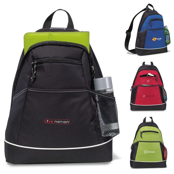 Wholesale cheap Polyester gym sack boy sling bag for school