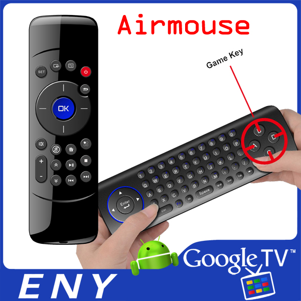 Hot! 2.4G Usb Wireless Fly Keyboard Mouse Remote For Pc Android Tv Box