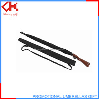 Good quality man's gun handle umbrella, Rifle Style Gun Umbrella