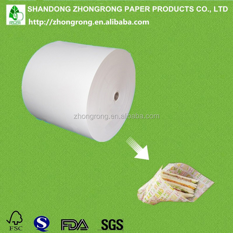 PE coated sandwich package paper, good greaseproof