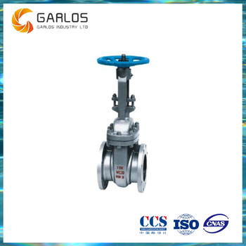 JIS Stainless steel rising stem straight through gate valve