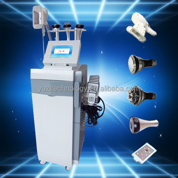 5 in 1 ultrasonic liposuction cavitation slimming machine / rf vacuum cavitation / ultrasound therapy (CE Approval) CRYO6S