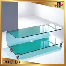 Fashionable professional full covered curve edge tempered glass