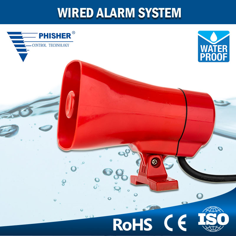 Waterproof EC7120 Industrial Wired Alarm System