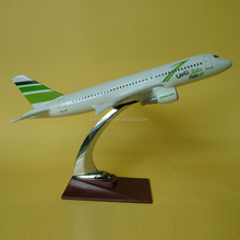 Decorative resin plane model,A320 airplane model,airbus model aircraft