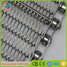fire and cold resistance low friction different types welded wire mesh belt for frozen foods